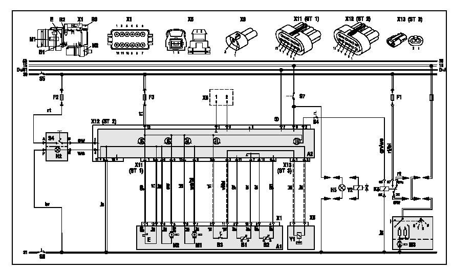электросхемы Thermo 90S
