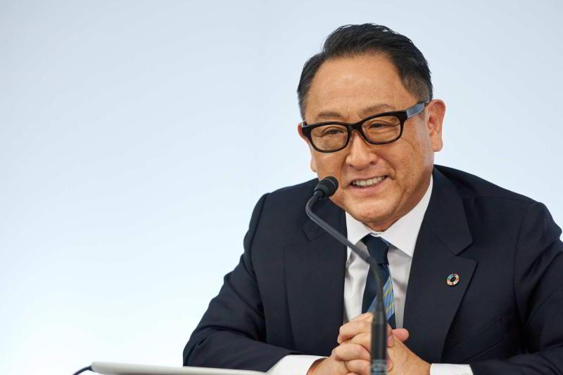президент Toyota Акио Тойода