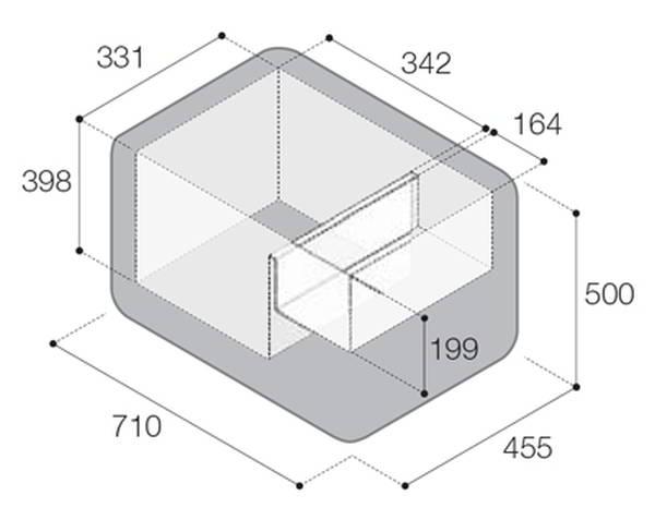 Технические характеристики Vitrifrigo VF55P