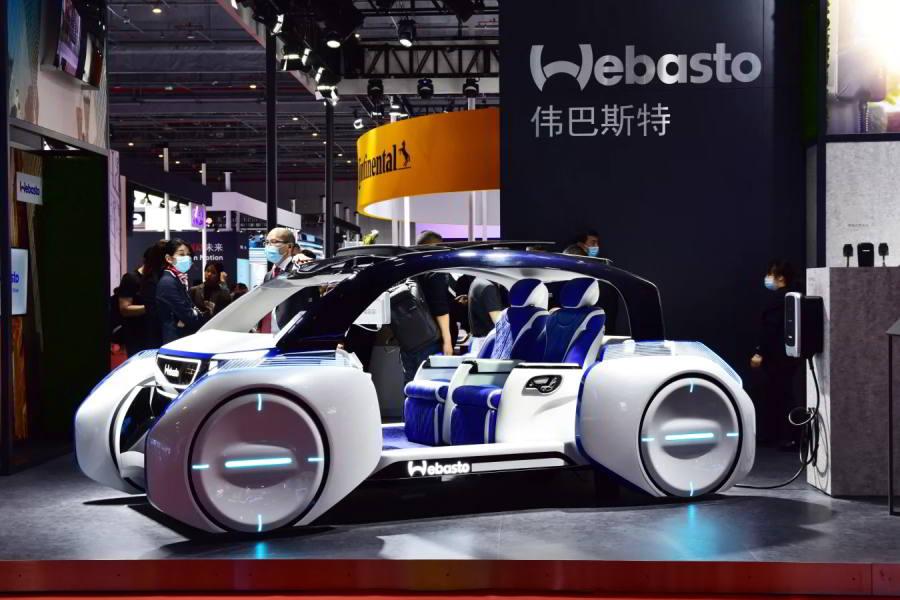 Новый электро кар от webasto